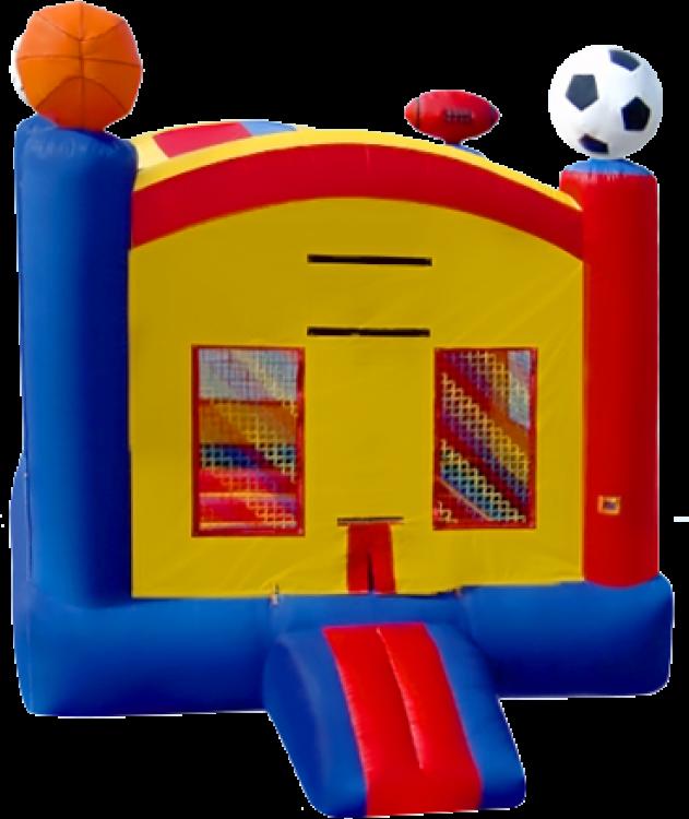 Sports Bouncer w/ Hoop