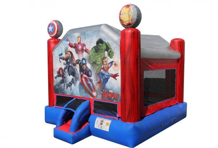 Marvel Avengers Bounce House