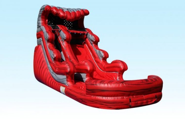 16ft Red Dragon Water Slide