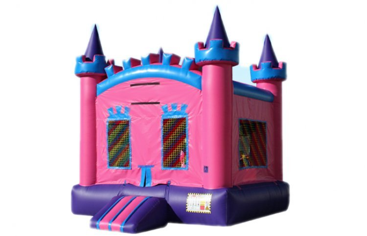 Pink Castle w/ Hoop