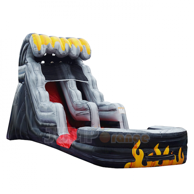 15ft Flame Water Slide